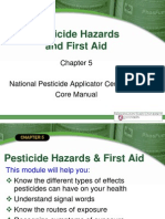 National Core Manual - Chapter 5 Pesticide Hazards and First Aid