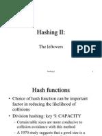 Hashing 2