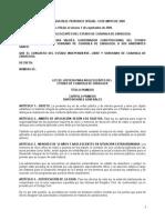 Ley de Justicia Para Adolescentes Del Estado de Coahuila de Zaragoza