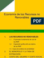 Economia de Recursos No Renovables