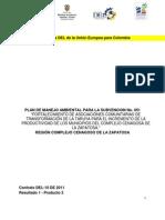 89066225 Plan de Manejo Ambiental Para Proyecto de Fortalecimiento a Las Asociaciones Comunitarias de Transformacion de La Taruya Para El Incremento de La Prod (1)