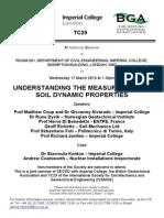 Understanding the Measurement of Soil Dynamic Properties