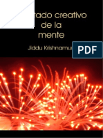 El Estado Creativo de La Mente Jiddu Krishnamurti