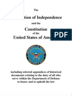 Declaration of Independence and the American Constitution