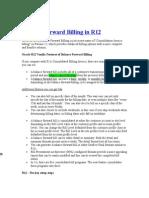 Oracle Balance Forward Billing R12
