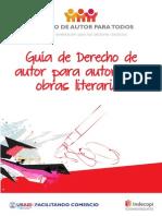 Guia de Derecho de Autor Para Autores de Obras Literarias (Indecopi)