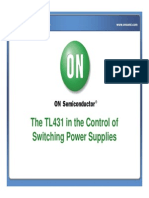 The TL431 in the Control of Switching Power Supplies