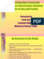 Promoting Agro-Based and Resource Based SMEs in Asia by Tarun Das