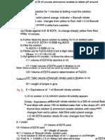 Determination of Major Oxide in Clinker by EDTA Methods