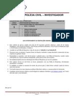 Policia Civil Investigador Simulado