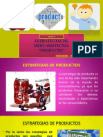 Estratagias de Mkt Producto.