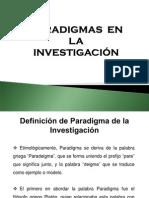 Paradigma de Investigación