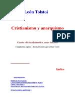 Cristianismo y Anarquismo - Tolstoi