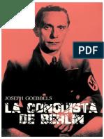 La Conquista de Berlin - JOSEPH GOEBBELS