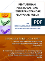 Standar Pelayanan Publik