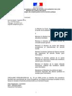 Circulaire critères CAF d'admission de ressortissants européens non actifs