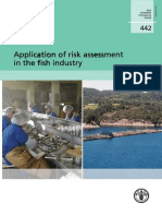 Application of Risk Assessment in the Fish Industry