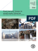Post-harvest Losses in Small-scale Fisheries