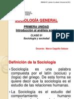 Clase 01 Sociologia General