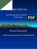 Corp Fin - Radio One Inc (2)