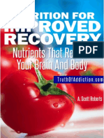 Nutrition for Improved Recovery