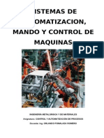 Sistemas de Control y Automatizacion