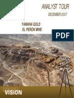 10 YRI El Penon Mine Dec07