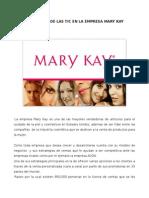 Influencia de Las TIC en Mary Kay