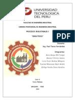 Informe Exposición Procesos Industriales Tema Embutidos
