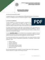 Informativo a Docentes de Ingles 2014 - 2015