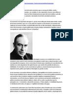 Pensamiento macroeconómico keynesiano