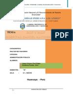 (129524952) Mof y Rof Trabajo Monografico (Administracion Publica) Nuevooo