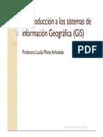 Introducción GIS