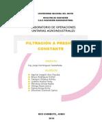 Informe Filtracion -Lab