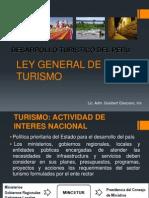 Diapositivas Ley de Turismo