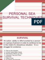 Personal Sea Survival Techniques