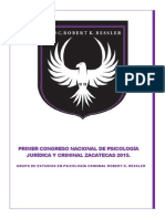 Primer Congreso Nacional de Psicología Jurídica Proyecto.