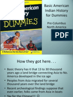 Basic American Indian History for Dummies