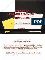 apoyoalaformulacindeproyectos-111214065155-phpapp02