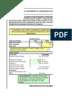 Clase 2_040414 Simulador de Costos Emisiones Certificados de Inversion en Bolsa