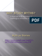 Why Study Myths