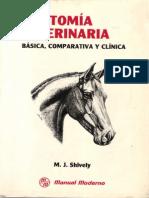 Anatomía Veterinaria Básica, Comparativa Y Clínica