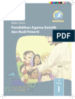 Buku Guru Pendidikan Agama Katolik dan Budi Pekerti Kelas 1 SD
