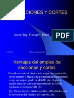 Cortes y Secciones - Perez