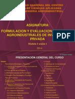 MODULOS 1, Sesión1 Proyectos Inversion Privada