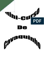 Mini Curso de Cavaquinho