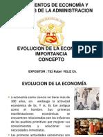 Evolucion de La Economia