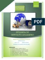 Régimen de Depósito Aduanero