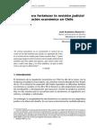 Criterios Para Fortalecer La Revisión Judicial de La Regulación Económica en Chile