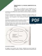 3.1 Definicion de Administracion y El Proceso Administrativo